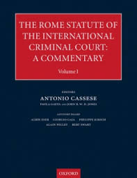 Cover of the The Rome Statute of the International Criminal Court