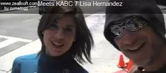 Zuma Dogg Meets KABC 7′s Lisa Hernandez In Dream Chance Encounter - 7