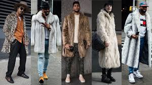 <b>Fur Coats</b> Dominated Street Style at <b>New</b> York Fashion Week: Men's