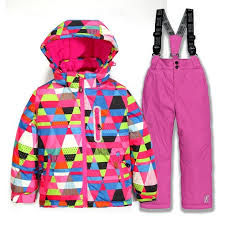 2018 <b>New Brand Boys</b>/<b>Girls</b> Ski Suit Waterproof Windproof Snow ...