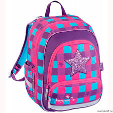 <b>Рюкзак школьный</b> Hama <b>Step by step</b> Звезда (фиолетовый ...