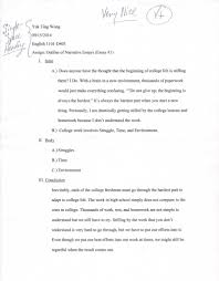 english d yuk ting wong s eportfolio personal narrative essay outline
