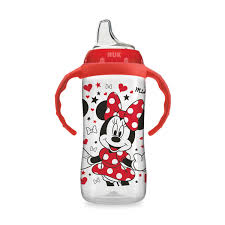 NUK Disney <b>Large</b> Learner <b>Sippy Cup</b> with Handles - Minnie Mouse ...