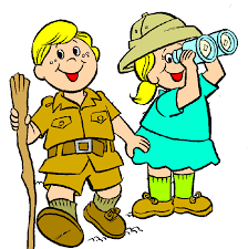 Image result for kid explorers clip art