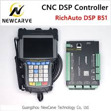 richauto dsp b51 usb cnc controller b51s b51e 3 axis for router control replace manual newcarve