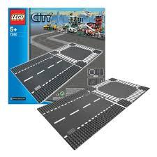 Конструктор <b>LEGO</b>® <b>City 7280</b> Прямая дорога и <b>перекрёсток</b> ...