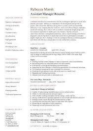 assistant manager resume  retail  jobs  CV  job description  examples  template  duties  samples Dayjob