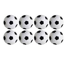 Wenosda <b>Table Soccer</b> Foosballs Footable Game,Pack of <b>8PCS</b> ...