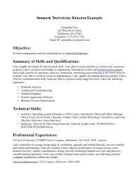 support technician resume  c c cosupport technician