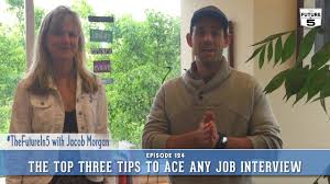 the top three tips to ace any job interview
