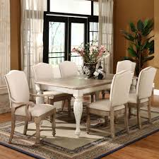 Two Toned Dining Room Sets Morris Home Furnishings Wilshire Round Leaf Dining Table Kitchen