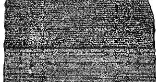 Resultado de imagem para escrita cuneiforme pedra roseta