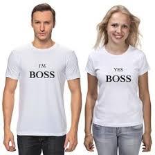 <b>Парные футболки</b> на День влюблённых - <b>Printio</b>