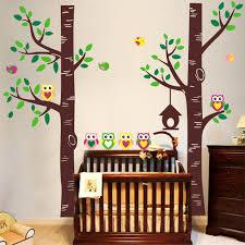 wall decal family art bedroom decor tree birds home bedroom decor birch aspen trees birds forest wall art stickers