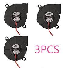 <b>3pcs</b> Brushless <b>DC 12V</b> 0.1A 5015 Cooling Blower Exhaust Turbo ...