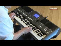 <b>Yamaha PSR</b>-<b>S670</b> Arranger Keyboard Workstation Demo by ...