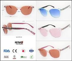 China 2019 New <b>Fashion</b> Flower Pattern <b>Plastic Sunglasses</b> with ...