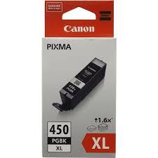 Оригинальный <b>картридж Canon PGI</b>-450PGBK <b>XL</b> (с черными ...
