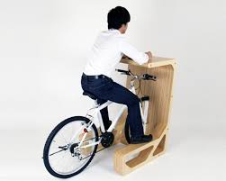 cycle in desk by store muu bike office chair