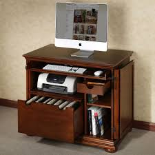 beauteous laptop computer desk modern home office furniture with brown wooden computer desk with keyboard racks cherry wood home office