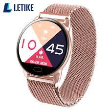 Letike 2019 New <b>K9 Color Screen</b> Waterproof Women Smart Watch ...