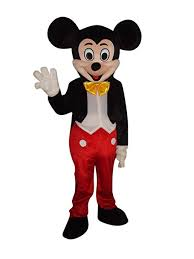 Mickey Mouse and Minnie Mouse Adult <b>Mascot Costume</b> Fancy