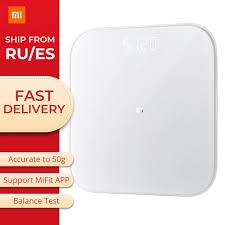 Original New Xiaomi <b>Mi Smart Scale 2</b> Generation Health Weight ...