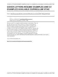 cv letter sample qhtypm cover letter gallery of sample covering letter for cv
