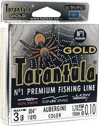 <b>Леска Balsax Tarantula Gold</b>, 100 м, 0,10 мм, 1,7 кг — купить в ...