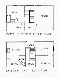 Family Room   Master Suite Add on   st  amp  nd Existing Floor Plans