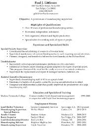 resume example   private housekeeper resume sample  housekeeper        private housekeeper resume sample functional resume sample housekeeping supervisor