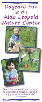 daycare aldo leopold nature centeraldo leopold nature center daycare brochure revised 7 14 cover page image page 2