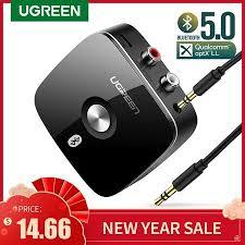 Ugreen <b>Bluetooth 5</b> 0 Receiver 3 5mm <b>AUX</b> Jack - www.meatchell.ru