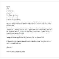 two weeks notice letter sample example format two weeks notice resignation letter sample template