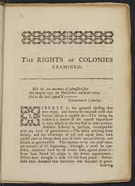 the stamp act crisis the gilder lehrman institute of american stephen hopkins the rights of colonies examined providence 1765