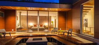 valley visitor center sliding glass doors design