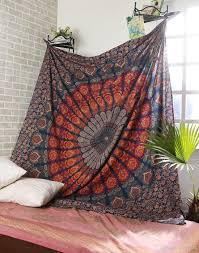 Small Picture Mandala Tapestry Indian Wall Hanging Boho Home Decor Tapestry