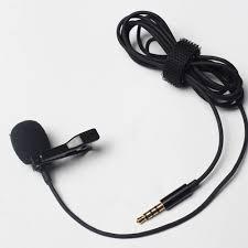 Esonmus-Portable Professional Grade Lavalier Microphone <b>3.5mm</b> ...