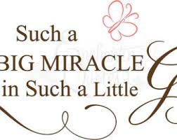 Miracle Baby Quotes. QuotesGram via Relatably.com