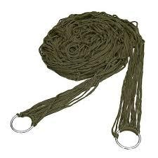 Wholesale- <b>Deep Green Nylon Hammock</b> Hanging Mesh Sleeping ...