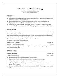 Acting Resume Template   Daily Actor free windows resume templates resume template free resume templates download for windows free ideas