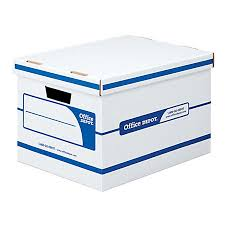 office depot brand 60percent recycled quick boxes stack office file