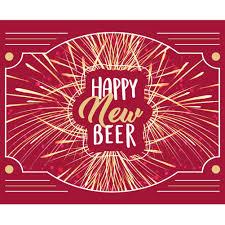 Label - <b>Happy New Beer</b> | HAY HAMPERS