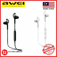 <b>AWEI A610BL</b> Wireless Smart <b>Sports</b> Stereo Earphones | Shopee ...