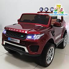Детский <b>электромобиль Range Rover</b> 4x4 | Полный привод 4WD ...