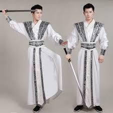 2019 <b>New</b> Chinese National <b>Hanfu</b> Costume For Men Tang Dynasty ...