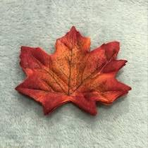 Buy 50 <b>Pcs</b> Artificial Plants 8 CM Simulation Maple Leaf Wedding ...