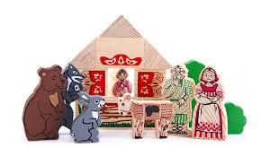 Купить игровые деревянные наборы <b>Сказки</b>: интернет-магазин ...
