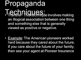 Image result for propaganda transfer device