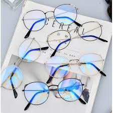 Anti-blue <b>cat ear</b> glasses <b>retro</b> frame glasses frame | Shopee ...